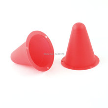 Watermelon Red Soft Plastic Mini Roadblock for Roller Skating 2 Pcs/lot Discount 50(China (Mainland))