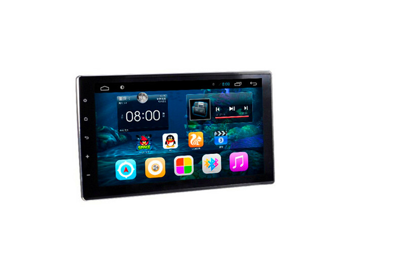 For 2 Din touch screen HD1024*600 Quad core Toyota Hilux car dvd player GPS with 3G/WIFI/mirror link/BT/Radio/USB/DDR 3 1G/16G(China (Mainland))