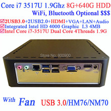 2014 direct selling processador pc computer with intel core i7-3517u 1.9ghz 3d api directx 11 hd 4000 graphic 8g ram 640g hdd(China (Mainland))