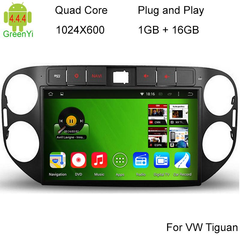 Android 4.4 Quad Core 16GB 1024*600 Car DVD Player VW Skoda POLO GOLF 5 6 PASSAT CC JETTA TIGUAN TOURAN Fabia Caddy Car GPS DVD(China (Mainland))