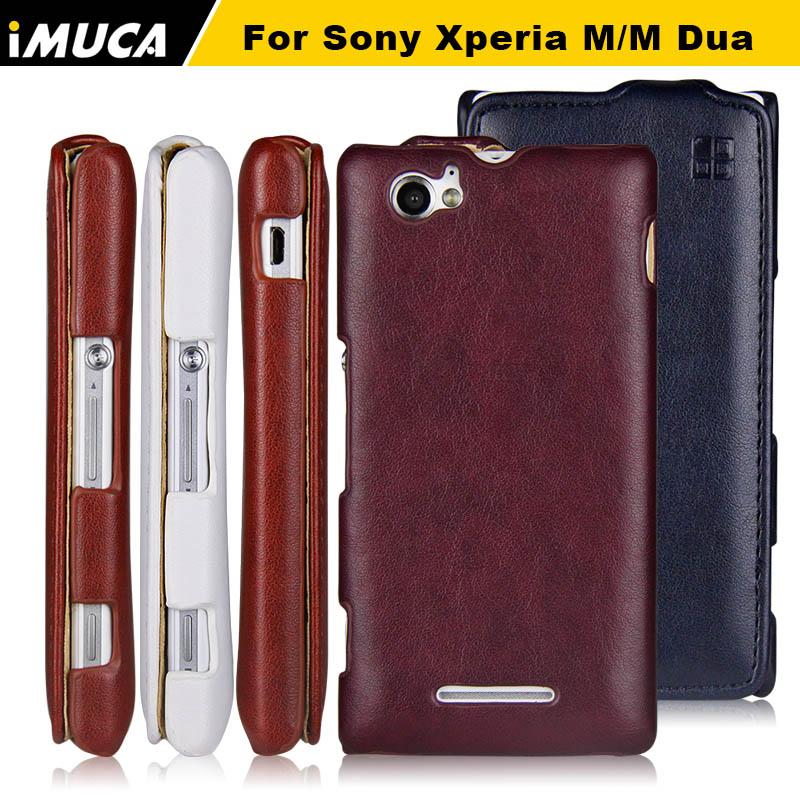 IMUCA Phone Cases Sony Xperia M C1905 Case Flip Leather Case Cover Sony Xperia M C1904 C1905 M Dual C2004 C2005 Fundas