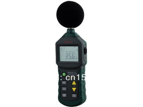 Mastech Digital Autoranging Sound Level Meter Tester MS6700 30 dB - 130 dB