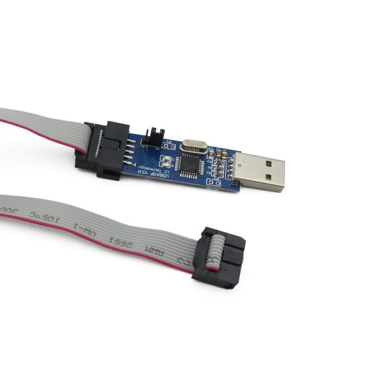 [electronic diy kit] LC-01 51 AVR Programmer ISP Downloader USBASP downloader(China (Mainland))