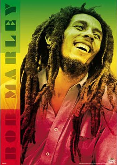 Bob Marley arte Poster imprimir etiquetas 20  X 30  polegadas qua