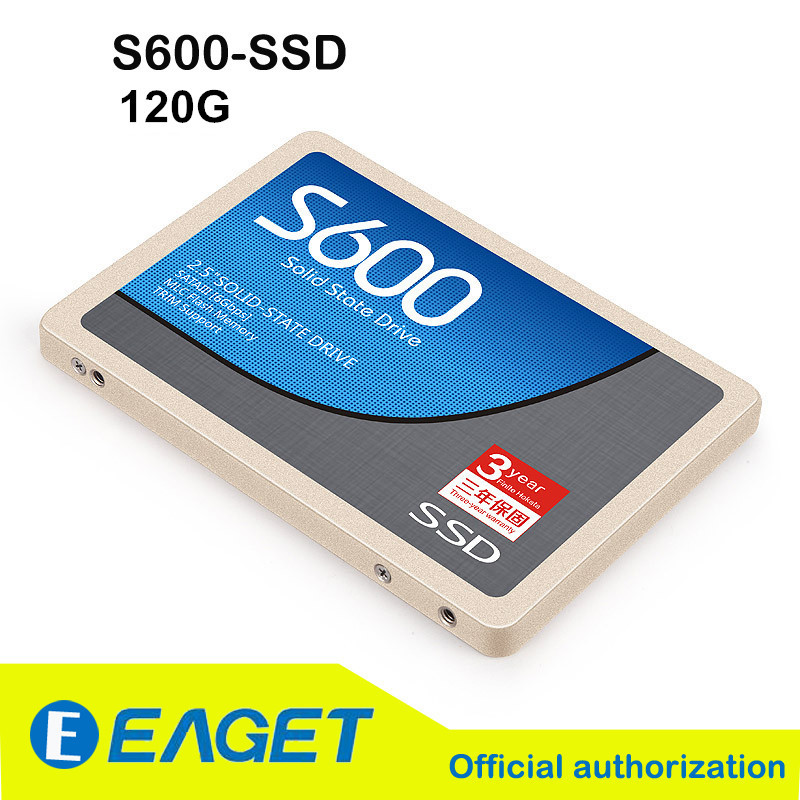 EAGET Official S600 120GB SATA-III Solid State Drives Desktop Laptop Internal And External Ddual-use High Speed Fast SATA3 SSD(China (Mainland))