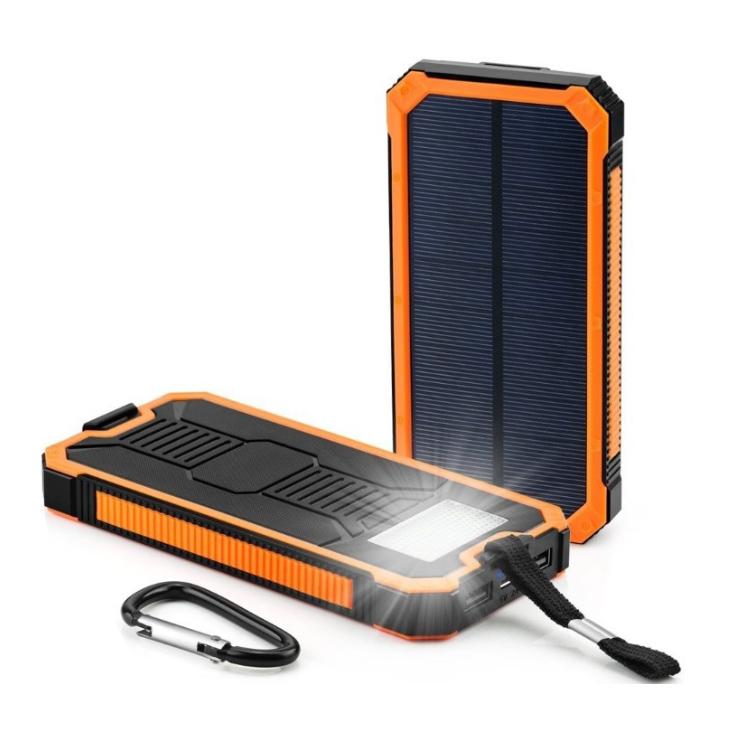 DCAE Solar Poverbank Mobile Phone Power Bank Portable External Sun Charger Cellphone Battery Powerbank 10000mah Universal(China (Mainland))