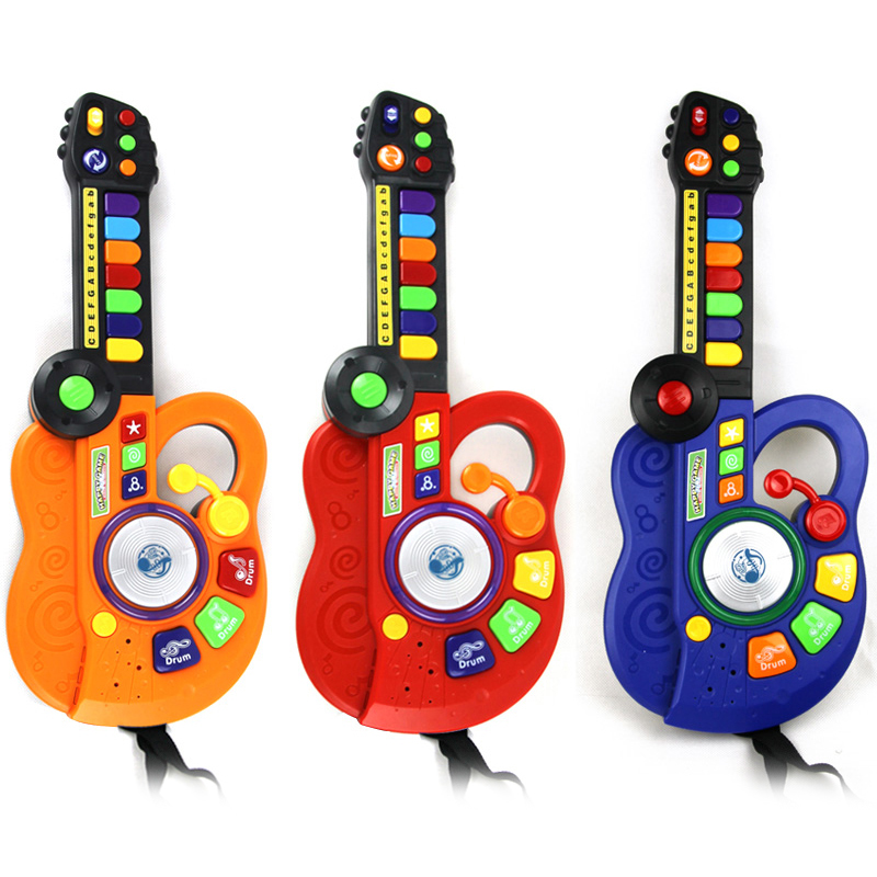 Led Guitar Musical Instrument Kids Toy Electronic Organ DJ Stage Style PNLO(China (Mainland))