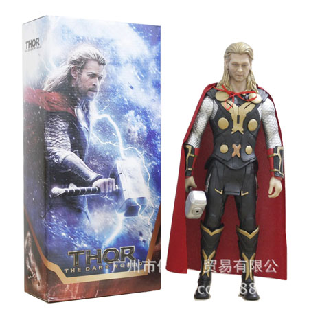 New arrival! Marvel The avengers Thor Action figures Model Doll toys 12 inch Boy good gift free shipping(China (Mainland))