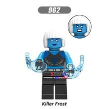 Único Aquaman Mera Luthor Superman Mulher Maravilha Reverter Flash Killer Frost Irmão Olho de blocos de construção tijolos brinquedos para crianças(China)