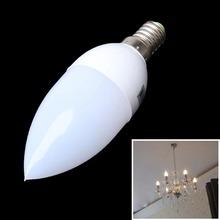 Warm White E14 SMD LED Candle Light Bulb Lamp(China (Mainland))