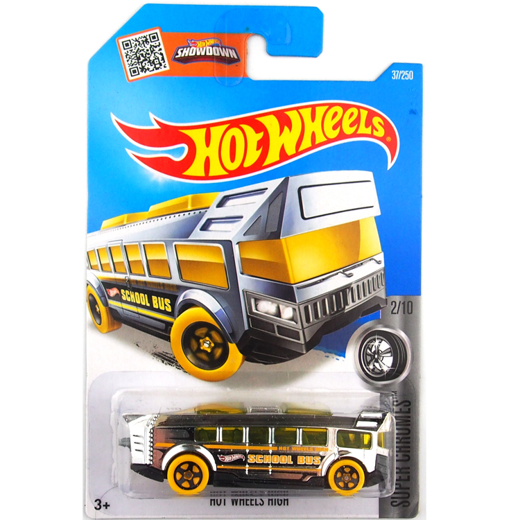 Free Shipping Hot Wheels 2016 school bus cars Models Metal Diecast Car Collection Kids Toys Vehicle For Children Juguetes(China (Mainland))