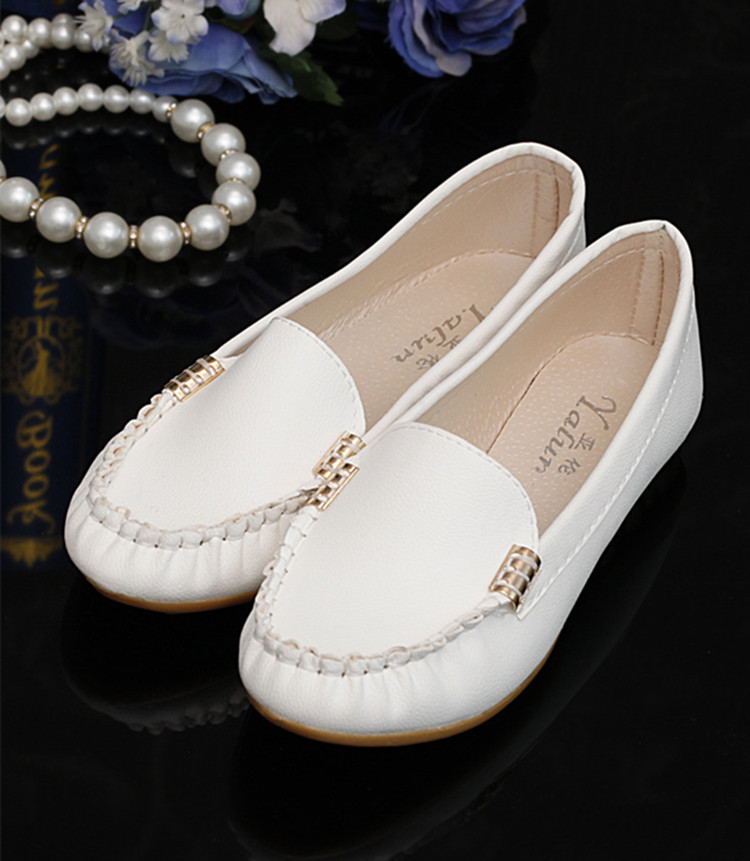 2016 New Women Flats Leather Fashion Shoes Slip on Woman Loafers Cheap Flat Shoes Size 35~40 Moccasins Free Shipping(China (Mainland))