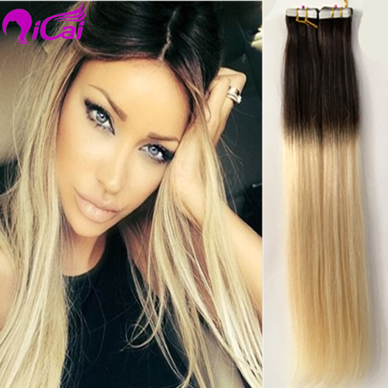 Blonde Ombre Tape In Hair Extensions The Best Blonde Hair 2018