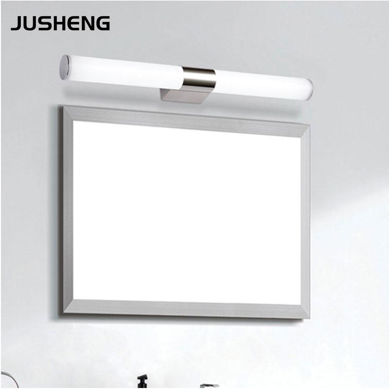Светильник над зеркалом в ванной с выключателем