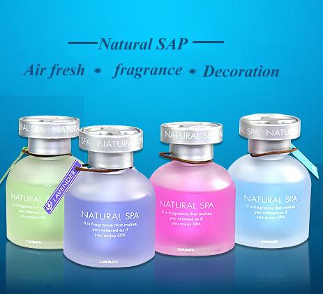 Natural SPA Flavor Car Home Perfume Decoration Fragrance Scent Air Freshener Accessories perfumes 100% original Parfum 2015 Hot(China (Mainland))