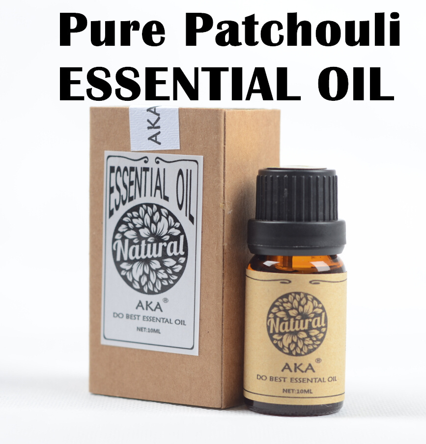 100% pure patchouli ESSENTIAL OIL NATURAL Eliminate acne relieve eczema calm removal of mosquitoes 10ml(China (Mainland))
