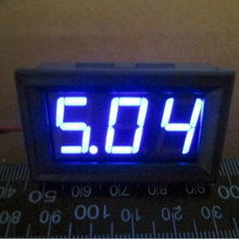 8 Mini MDigital Voltmeter 4.5-30V BLUE LED Vehicles Motor Voltage Panel Meter Brand New APS#0100 - AMAZON POWER SELLER store