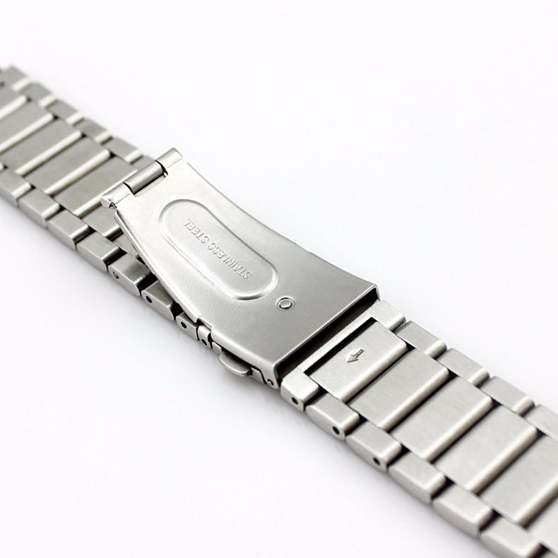 2015 Новое прибытие Из Нержавеющей Группа Ремешок Для Часов Ремешок Браслет браслет ремешок ленты замена для Huawei Watch + КОРОБКЕ + настроить инструменты
