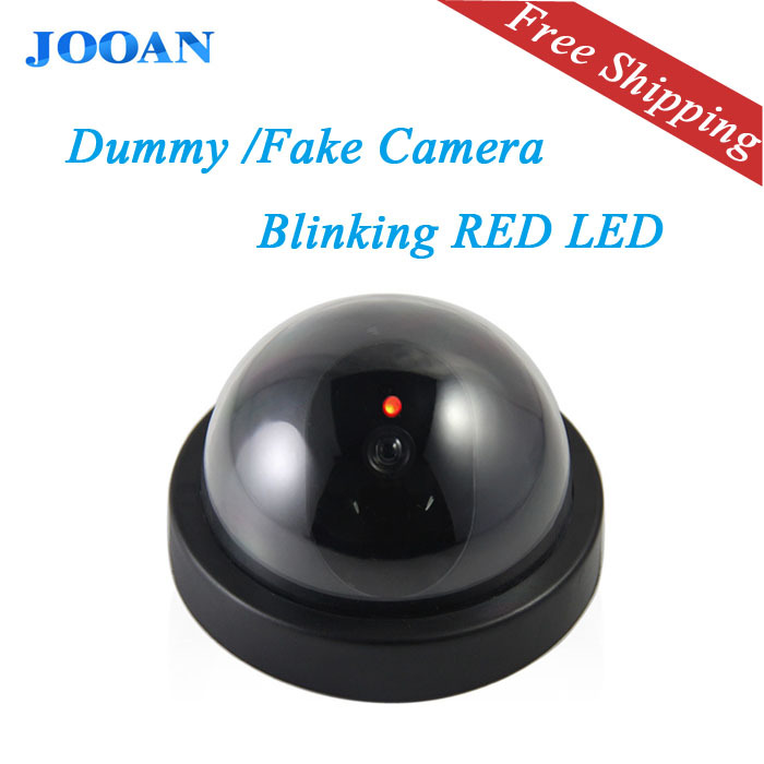 JOOAN indoor/outdoor Surveillance Dummy Ir Led Wireless Fake dome camera home CCTV Security Camera Simulated video Surveillance(China (Mainland))