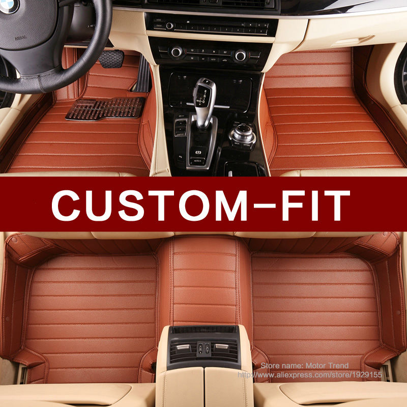 Special car floor mats make for Ford S-max Fusion Mondeo Focus Edge Kuga Escape foot case full cover car styling carpet liners(China (Mainland))