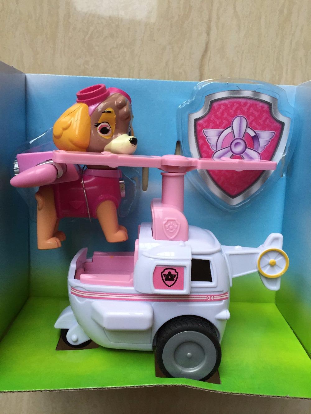 7 Kinds Of Anime Model Kids Action Figure Light Patrulla Canina Toys,Kids Toys Anime Dog Vehicle Juguetes Patrol Toys(China (Mainland))
