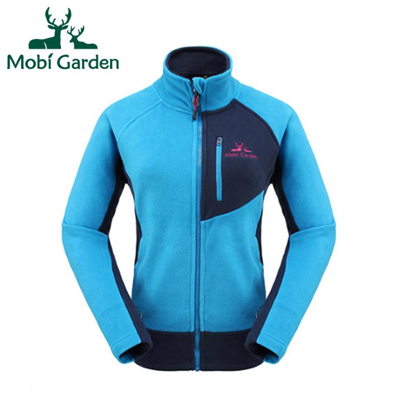 Mobi Garden Outdoor Camping Climbing Hiking Windstopper Breathable Warm Ski Sports Fleece Jacket For Women ZWB1311010 WWK346<br><br>Aliexpress