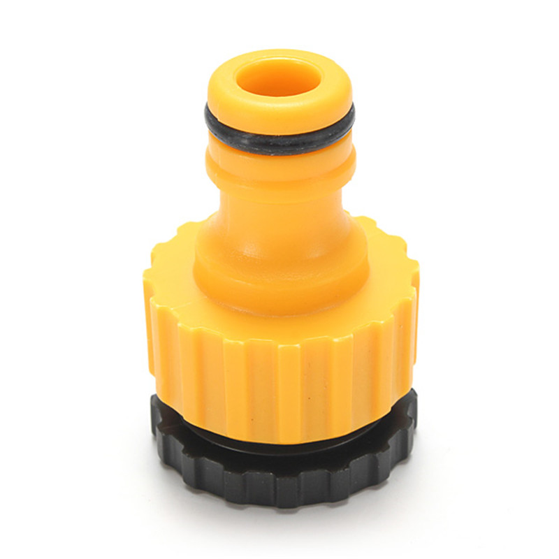 Different Quality 3/4 Threaded Plastic Garden Water Hose Pipe Connector Tube Fitting Tap Adaptor Garden tool(China (Mainland))