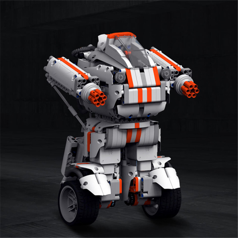 High Quality Xiaomi MITU DIY Mobile Phone Control Self-assemble Robot Intelligent Robot RC Robot For Kids Toy Gift(China (Mainland))