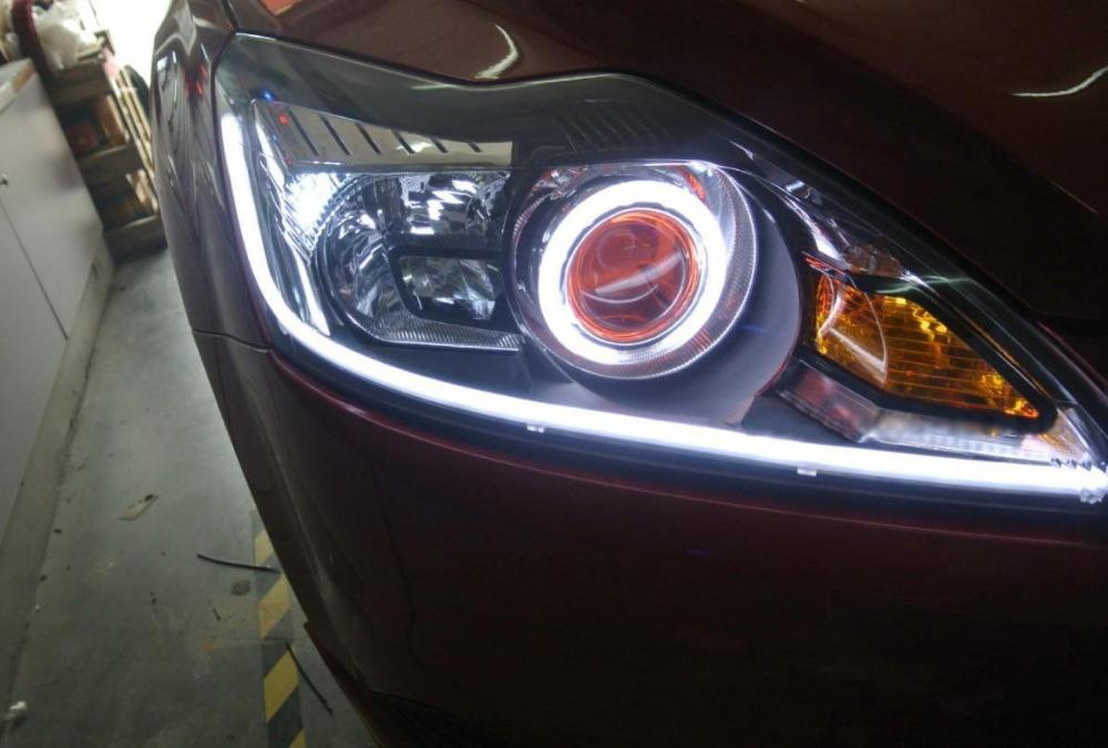 Car led strp light crowdbuild for car headlight led strip light daytime running light turning light car aloadofball Images