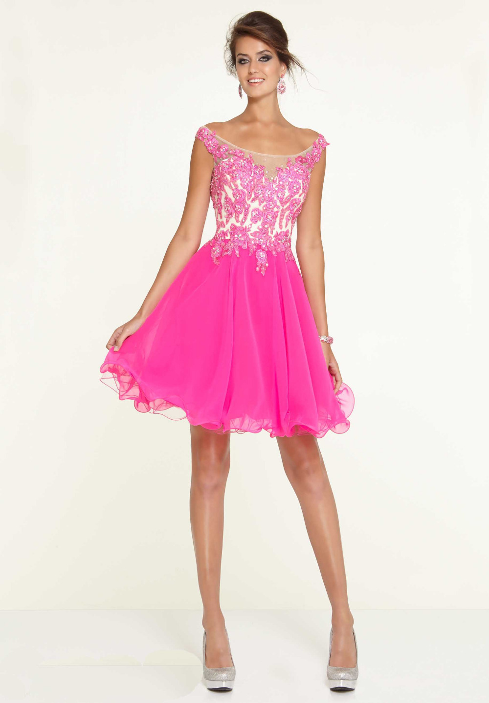 Pink Dresses For Homecoming