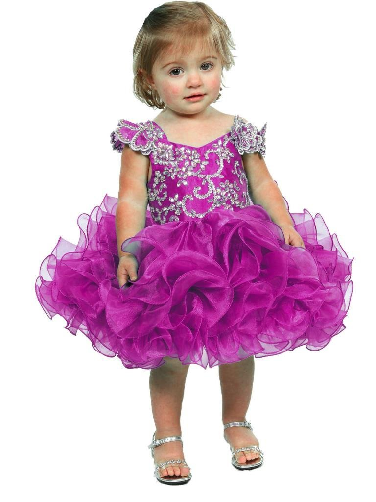 Little Girl Flower Girl Dress Baby girl Infant Toddler