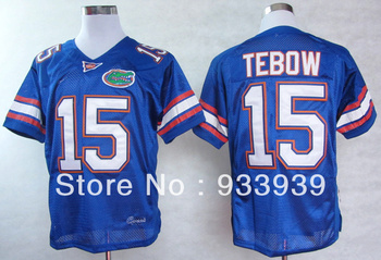 Free Shipping Wholesale Florida Gators Tim Tebow 15 College Football Jerseys -mixed order