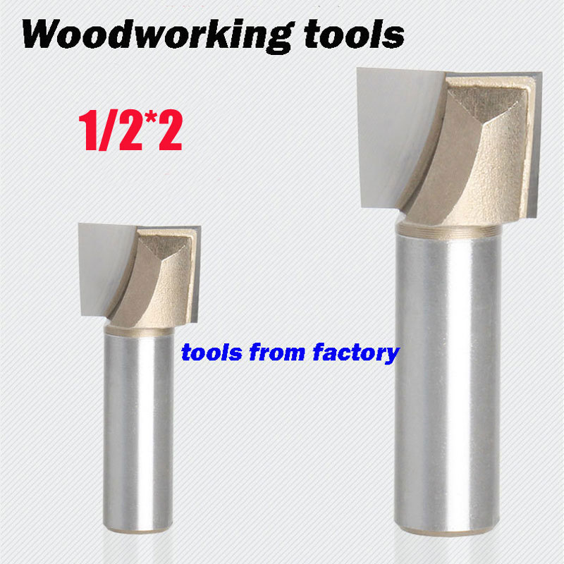 1pc wooden router bits 1/2*2 CNC woodworking milling cutter woodwork carving tool(China (Mainland))