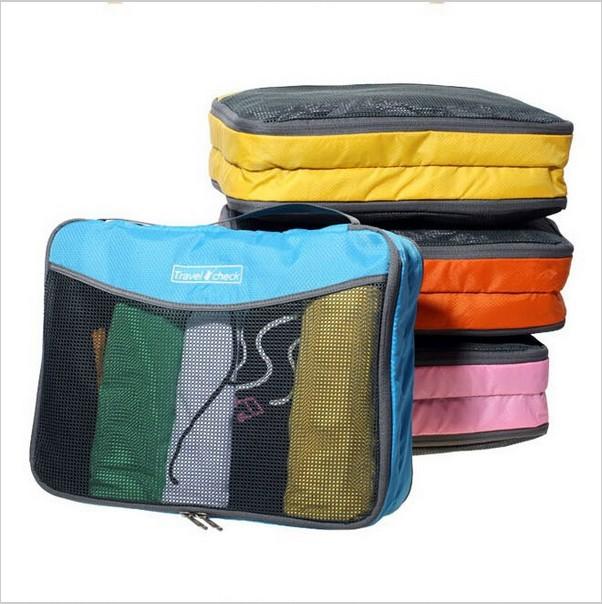 2015 Free Shopping Travel Organizer Bag Set,Travel Clothes Storage Bags,Packing Cube Bags, Travel Luggage Organizer Bags(China (Mainland))