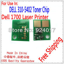 Toner Reset Chip For Dell 1700 Printer Laser,Use For Dell Toner 310-5402 Chip,Use For Dell 1700 Toner Chip,Free Shipping