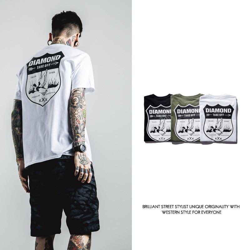 2016 summer style brand clothing walla era yeezus diamond hiphop t shirts for men cotton mens fashion shirtsОдежда и ак�е��уары<br><br><br>Aliexpress
