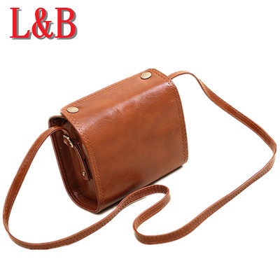Women Leather Handbags Messenger Package Small Plaid Vintage Bags Clutch bolsa feminina channel bag bolsos mujer dollar price(China (Mainland))