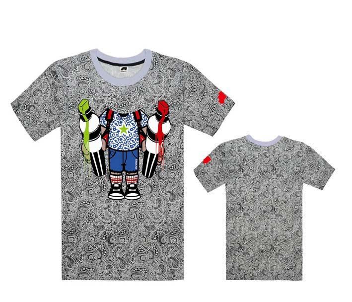 Leopard fashion Trukfit t-shirt brand logo print casual designer men T Shirts best quality cotton hiphop tshirt Men's Clothing(China (Mainland))