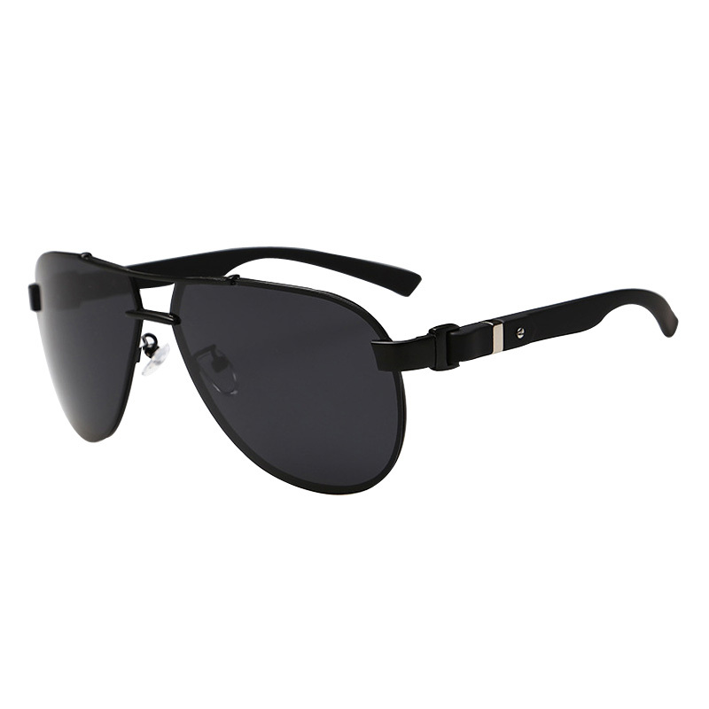 Are Frameless Glasses In Style 2015 : 2015 Luxury Black Men Sunglasses Polarized Frameless Alloy ...