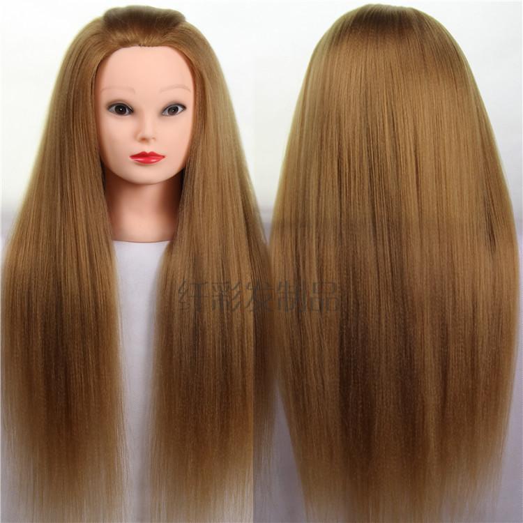 Головы кукол для причесок с длинными волосами