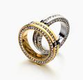 Free Shipping Bulgary Name Rhinestone Stainless Steel Women And Men Rings Fashion Jewelry Ailan MJ0215