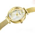 New Arrival Luxury Kimio Brand Quartz Watches Fashion Fine Stainless Steel Braided Watchband Waterproof Ladies Watch