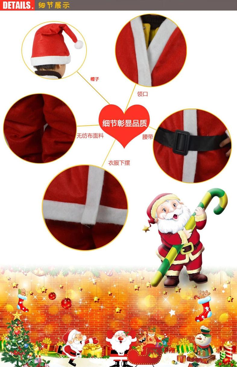 2016 New children christmas clothing  Four Sets of Clothes and A Girl with A Girl's Dress and A Girl's Dress