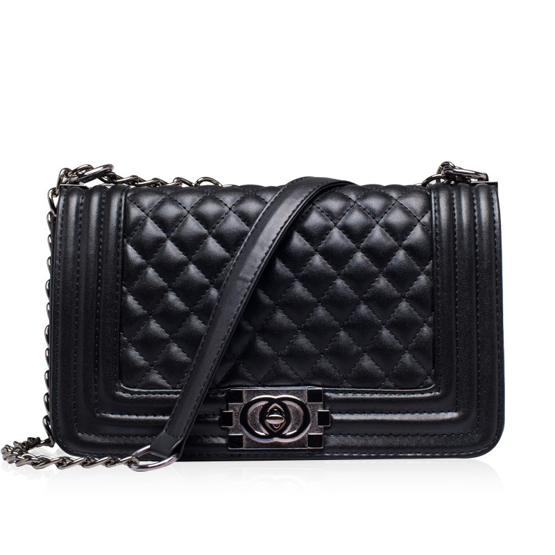 Hot 2015 New Fashion Brand Women Large Handbags Retro Shoulder Bag Quilted Chain Lady Messenger Bags - LEFTSIDE bag store