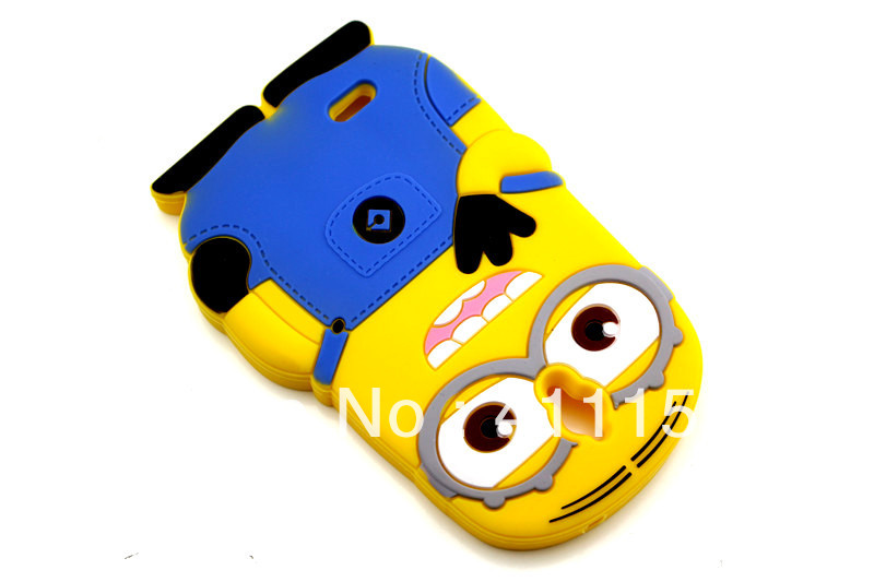 3D Two Eyes Despicable 2 Minions Soft Silicone Back Case Cover Huawei Ascend G610 - ALEX ZHOU Store store