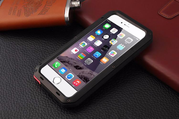 Luxury Dirt Shock Waterproof Shockproof Aluminum Gorilla Metal Cover Case for iPhone 6 6S /For iphone 6 6S plus Armor