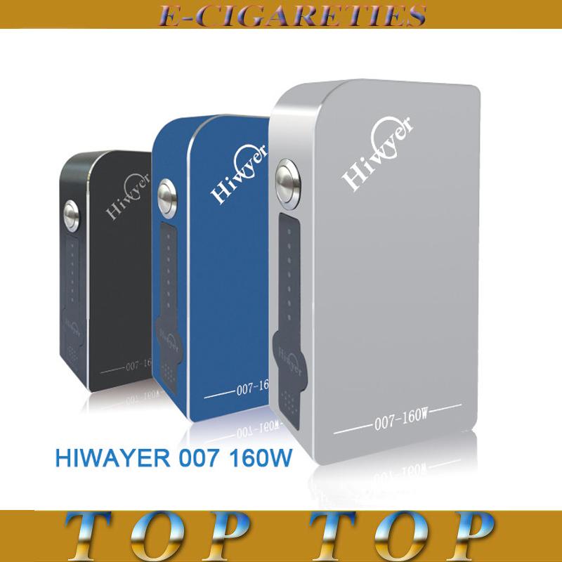 2015 Hot Sell Original Aluminum Hiwayer 007 160W BOX MOD Temperature Contorl No.0531<br><br>Aliexpress