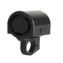 Mini 180 Rotation Bicycle Ultra-loud Electronic Bell Bike Cycling Ring Bicycle Horn Black Bike Horn Safety Riding Warning Bell(China (Mainland))