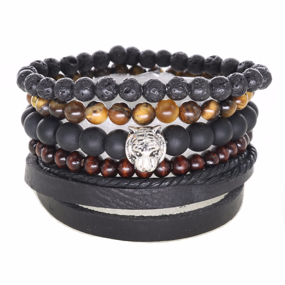 Men Braided Adjustable Leather Charm Bracelets Wristband Popular Bracelet Women Men`s Casual Jewelry(China (Mainland))