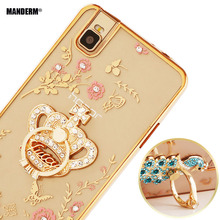 Buy Luxury Rhinestone Phone Case Finger Rotated Ring Holder Stand Huawei Honor 7i ATH-AL00 UL00 Ultra-thin Silicone Case for $3.79 in AliExpress store